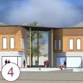 Progetto di riqualificazione edifici ad uso commerciale e servizi