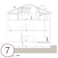 Progetto restauro palazzo Martinengo del xvii sec.